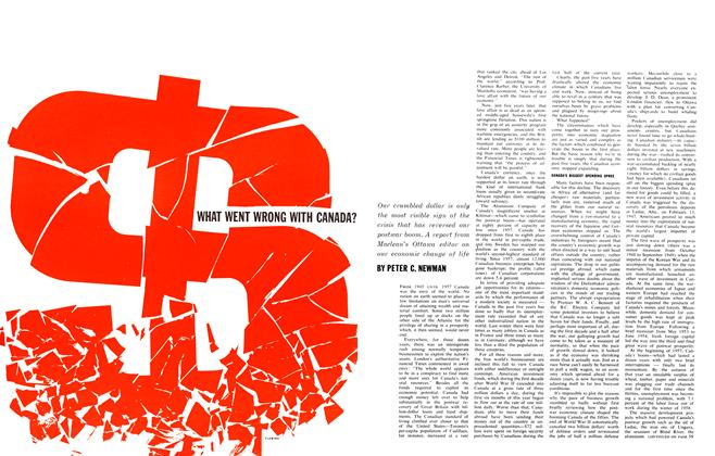 Article Preview: WHAT WENT WRONG WITH CANADA?, September 1962 | Maclean's