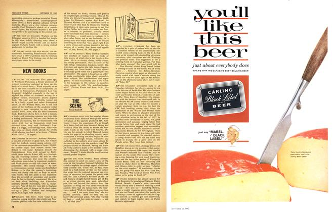 Article Preview: THE SCENE, September 1962   Maclean's