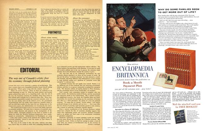 Article Preview: EDITORIAL, September 1962 | Maclean's