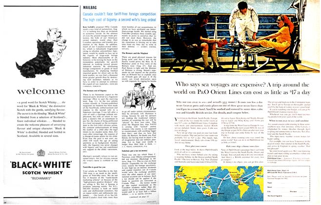Article Preview: MAILBAG, September 1962 | Maclean's