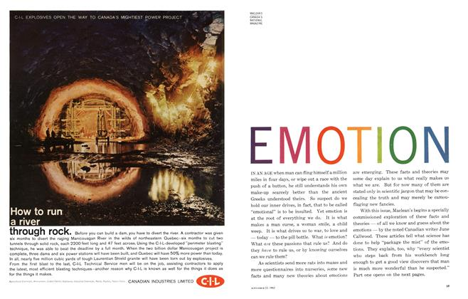 Article Preview: EMOTION, September 1962 | Maclean's