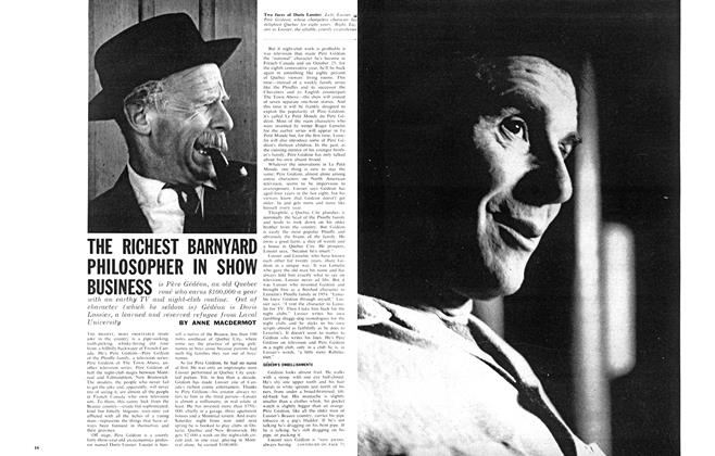 Article Preview: THE RICHEST BARNYARD PHILOSOPHER IN SHOW BUSINESS, October 1962 | Maclean's