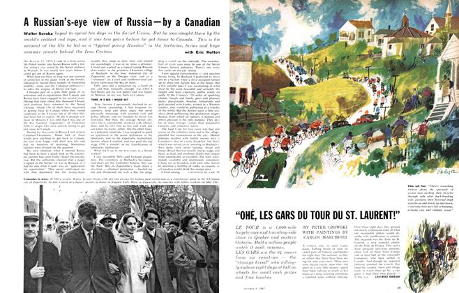 "Article Preview: ""OHÉ, LES GARS DU TOUR DU ST. LAURENT!"", October 1962 