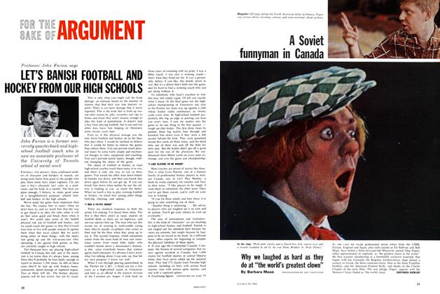 Article Preview: A Soviet funnyman in Canada, October 1962 | Maclean's