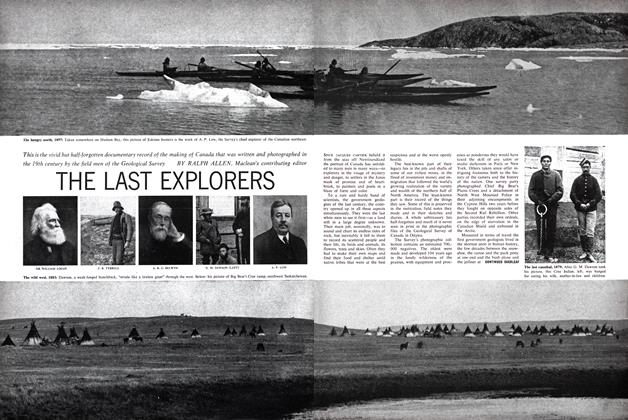 Article Preview: THE LAST EXPLORERS, October 1962 | Maclean's