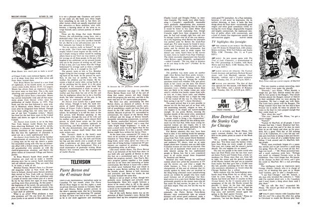 Article Preview: How Detroit lost the Stanley Cup for Chicago, October 1962 | Maclean's