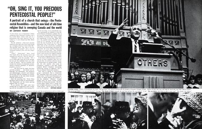 "Article Preview: ""OH, SING IT, YOU PRECIOUS PENTECOSTAL PEOPLE!"", November 1962 
