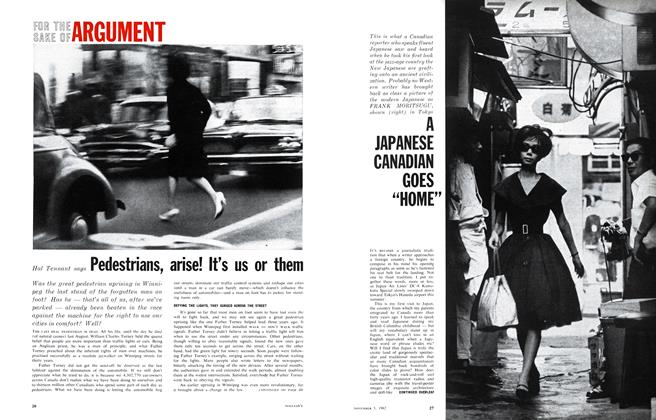 Article Preview: FOR THE SAKE OF ARGUMENT, November 1962 | Maclean's