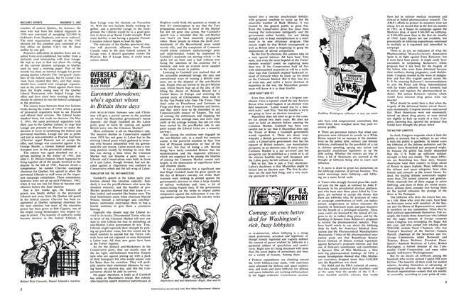 Article Preview: OVERSEAS REPORT, November 1962 | Maclean's