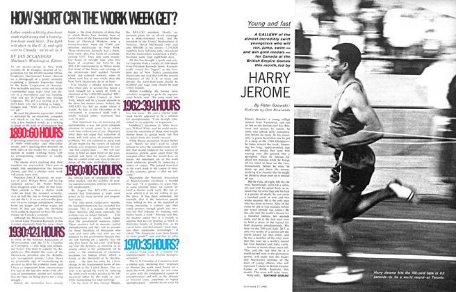 Article Preview: Young and fast, November 1962 | Maclean's