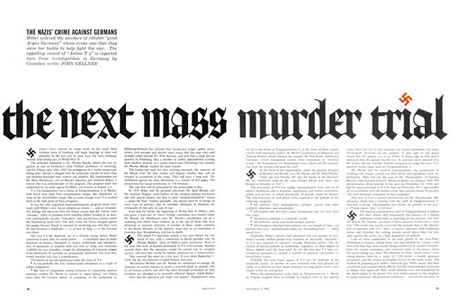 Article Preview: THE NEXT MASS MURDER TRIAL, November 1962 | Maclean's