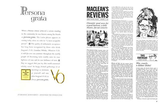 Article Preview: MACLEAN'S REVIEWS, November 1962 | Maclean's