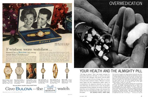 Article Preview: YOUR HEALTH AND THE ALMIGHTY PILL, December 1962 | Maclean's