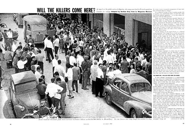 Article Preview: WILL THE KILLERS COME HERE?, December 1962 | Maclean's