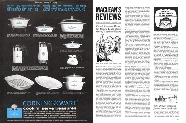 Article Preview: John Braine: suburban fiction moves to Britain, December 1962 | Maclean's