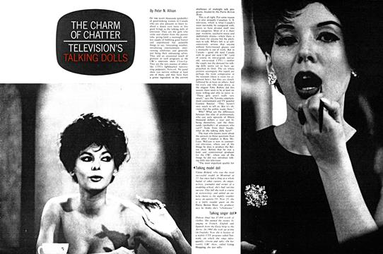 THE CHARM OF CHATTER TELEVISION'S TALKING DOLLS - December | Maclean's