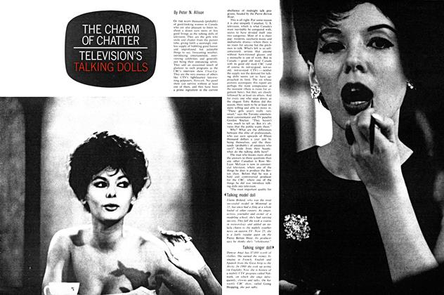 Article Preview: THE CHARM OF CHATTER TELEVISION'S TALKING DOLLS, December 1962 | Maclean's
