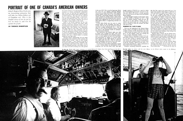 Article Preview: PORTRAIT OF ONE OF CANADA'S AMERICAN OWNERS, December 1962 | Maclean's