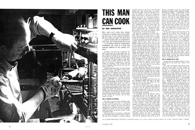 Article Preview: THIS MAN CAN COOK, December 1962 | Maclean's