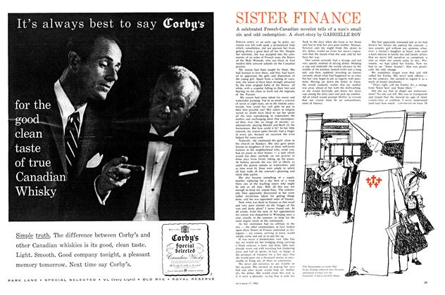 Article Preview: SISTER FINANCE, December 1962 | Maclean's