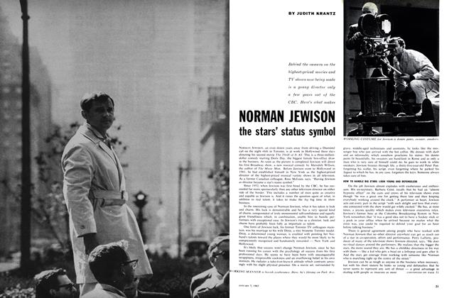 Article Preview: NORMAN JEWISON the stars' status symbol, January 1963 | Maclean's