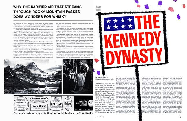 Article Preview: THE KENNEDY DYNASTY, January 1963 | Maclean's