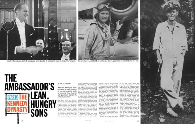 Article Preview: THE AMBASSADOR'S LEAN, HUNGRY SONS, February 1963 | Maclean's