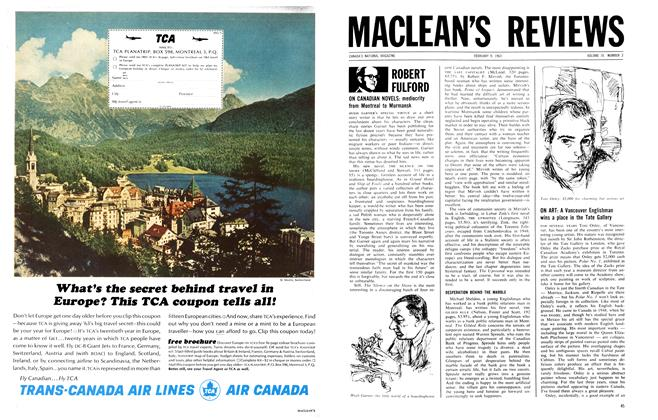 Article Preview: MACLEAN'S REVIEWS, February 1963 | Maclean's