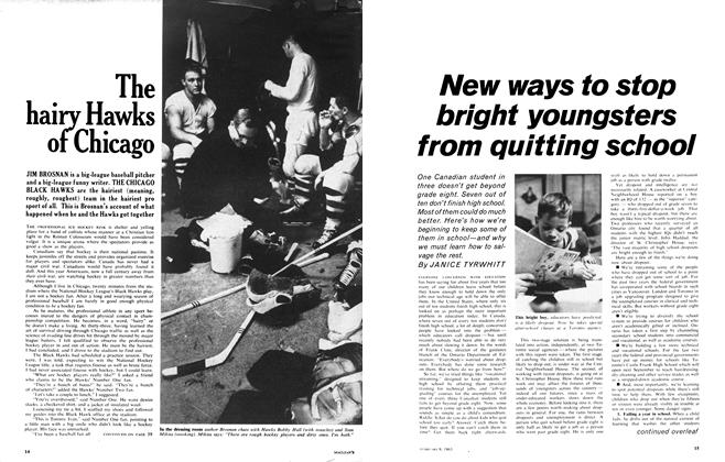 Article Preview: New ways to stop bright youngsters from quitting school, February 1963 | Maclean's