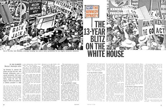Article Preview: THE 13-YEAR BLITZ ON THE WHITE HOUSE, February 1963 | Maclean's