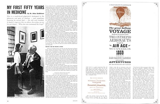 Article Preview: The great balloon VOYAGE, February 1963 | Maclean's