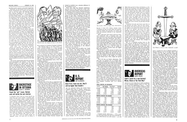 Article Preview: OVERSEAS REPORT, February 1963 | Maclean's