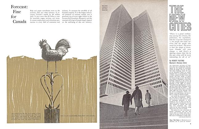 Article Preview: THE NEW CITIES, February 1963 | Maclean's