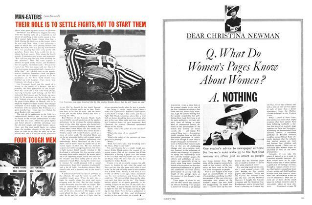 Article Preview: Q. What Do Women's Pages Know About Women ? A. NOTHING, March 1963 | Maclean's