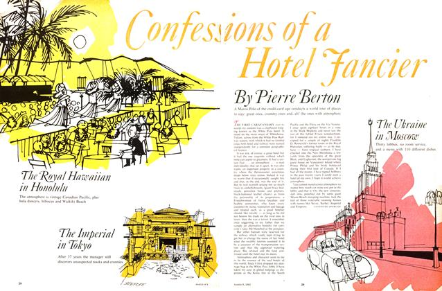 Article Preview: Confessions of a Hotel Fancier, March 1963 | Maclean's