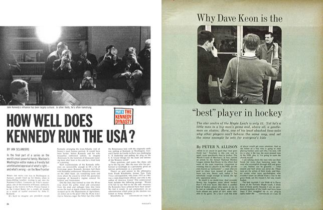 "Article Preview: Why Dave Keon is the ""best"" player in hockey, March 1963 