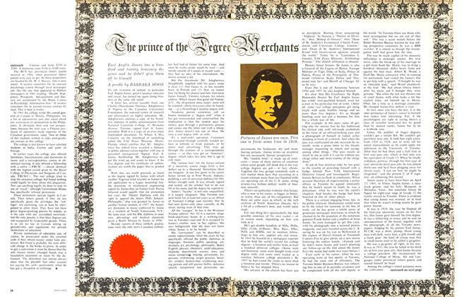 Article Preview: The Prince of the Degree Merchants, April 1963 | Maclean's