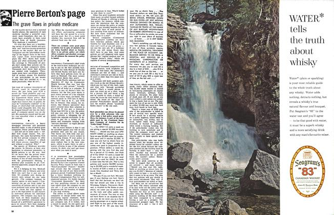 Article Preview: Pierre Berton's page, April 1963 | Maclean's