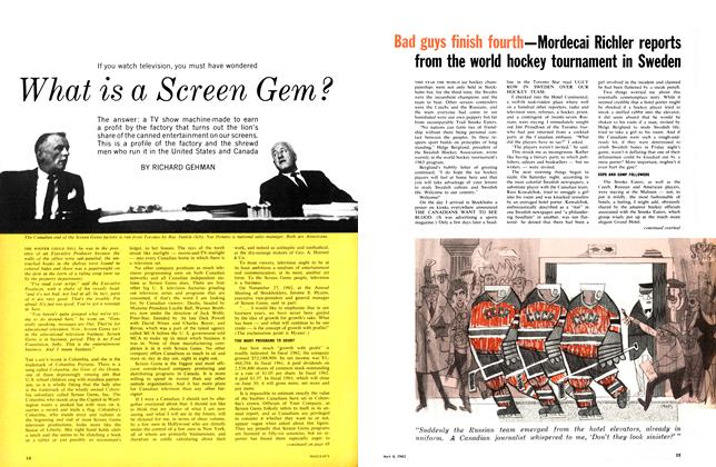 Article Preview: What is a Screen Gem?, May 1963 | Maclean's