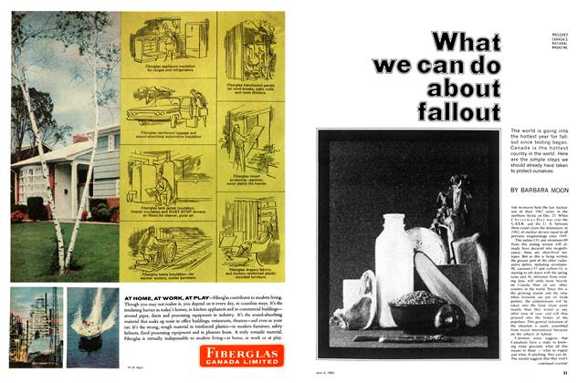 Article Preview: What we can do about fallout, May 1963 | Maclean's