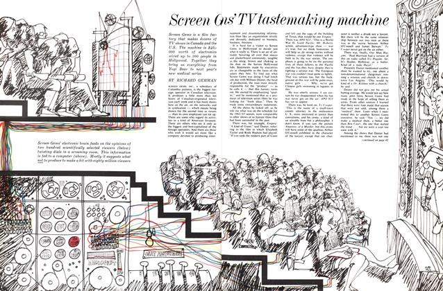 Article Preview: Screen Gem's TV tastemaking machine, May 1963 | Maclean's