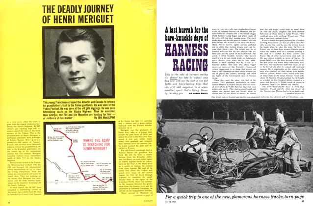 Article Preview: THE DEADLY JOURNEY OF HENRI MERIGUET, May 1963 | Maclean's