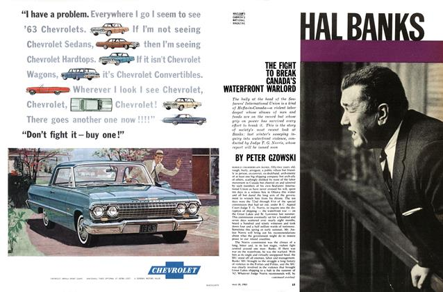Article Preview: HAL BANKS, May 1963 | Maclean's