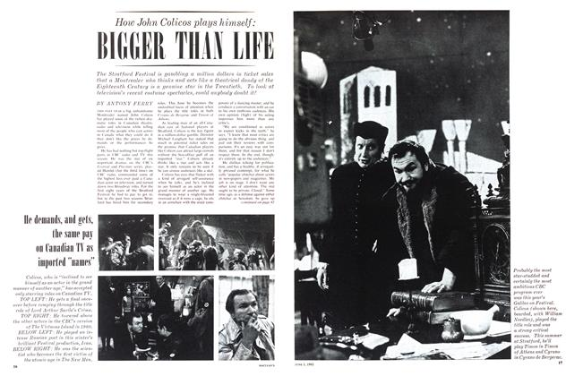 Article Preview: How John Colicos plays himself: BIGGER THAN LIFE, June 1963 | Maclean's
