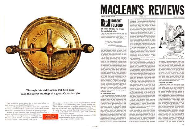 Article Preview: ROBERT FULFORD, June 1963   Maclean's