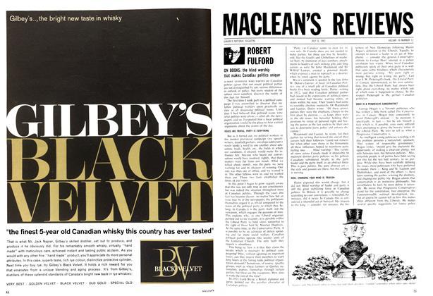 Article Preview: ROBERT FULFORD, July 1963 | Maclean's