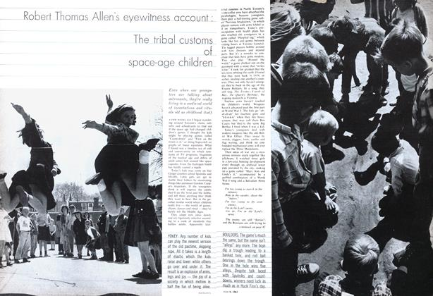Article Preview: Robert Thomas Allen's eyewitness account: tribal customs space-age children, July 1963 | Maclean's