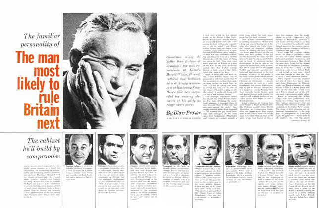 Article Preview: The familiar personality of The man most likely to rule Britain next, July 1963 | Maclean's