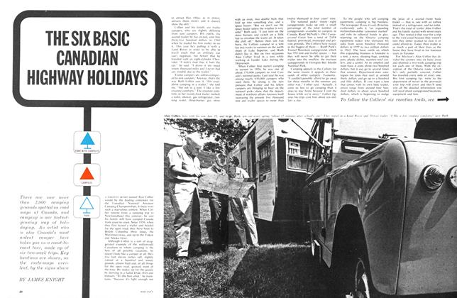 Article Preview: THE SIX BASIC CANADIAN HIGHWAY HOLIDAYS, July 1963 | Maclean's