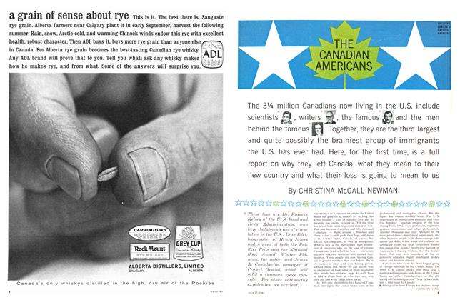 Article Preview: THE CANADIAN AMERICANS, July 1963 | Maclean's